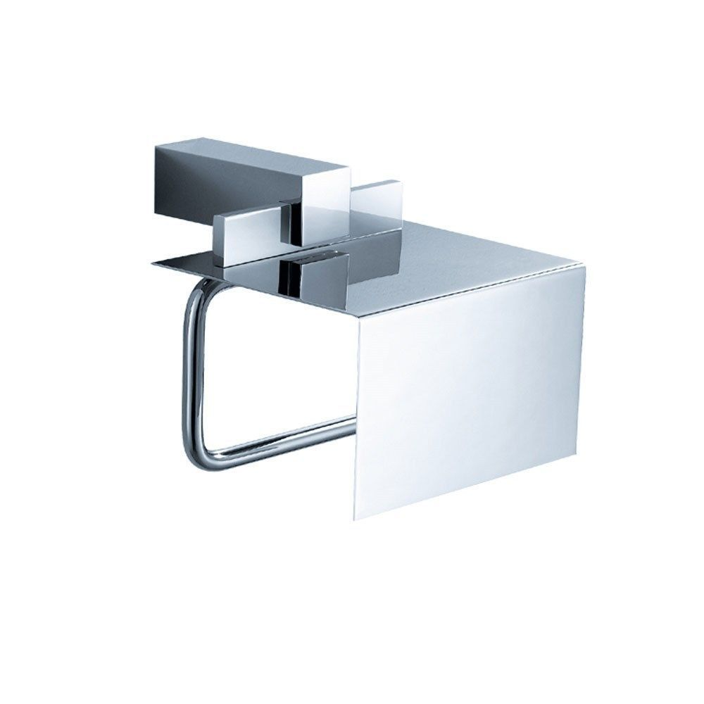 Modern toilet paper holders free standing - Toilet Paper Holders Mounted 32876 Fresca Ellite Modern Bathroom Chrome Toilet Paper Holder