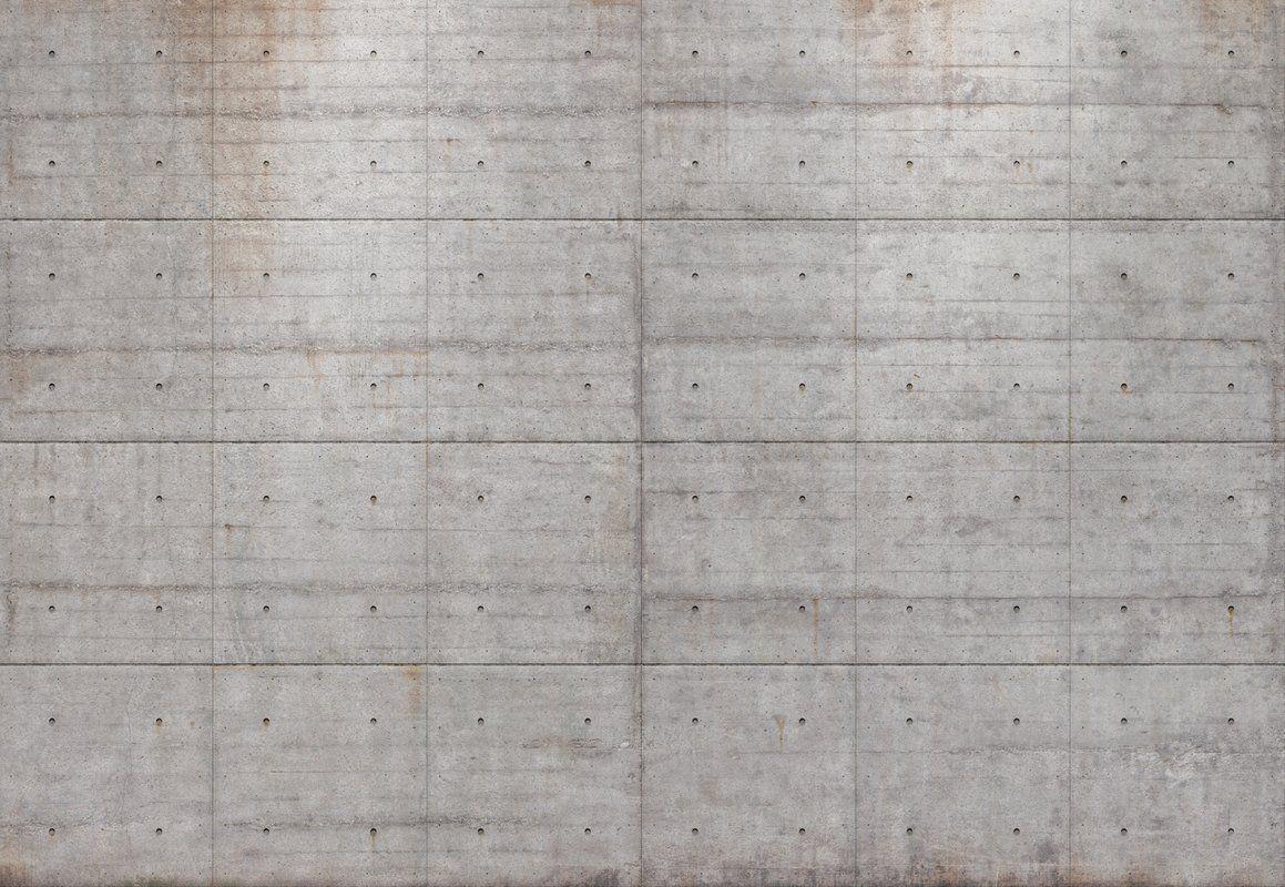 Komar Concrete Blocks Wall Mural Concrete Block Walls Concrete Blocks Concrete Wallpaper