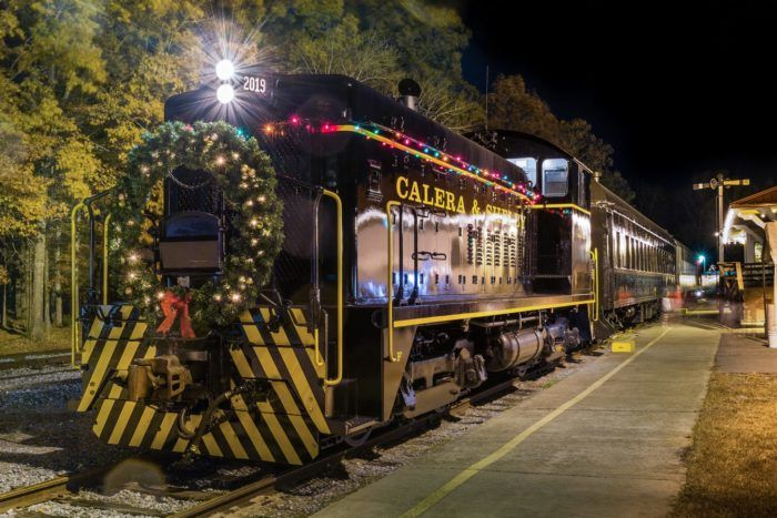 Christmas Train Ride.Travel Alabama Attractions Things To Do Polar