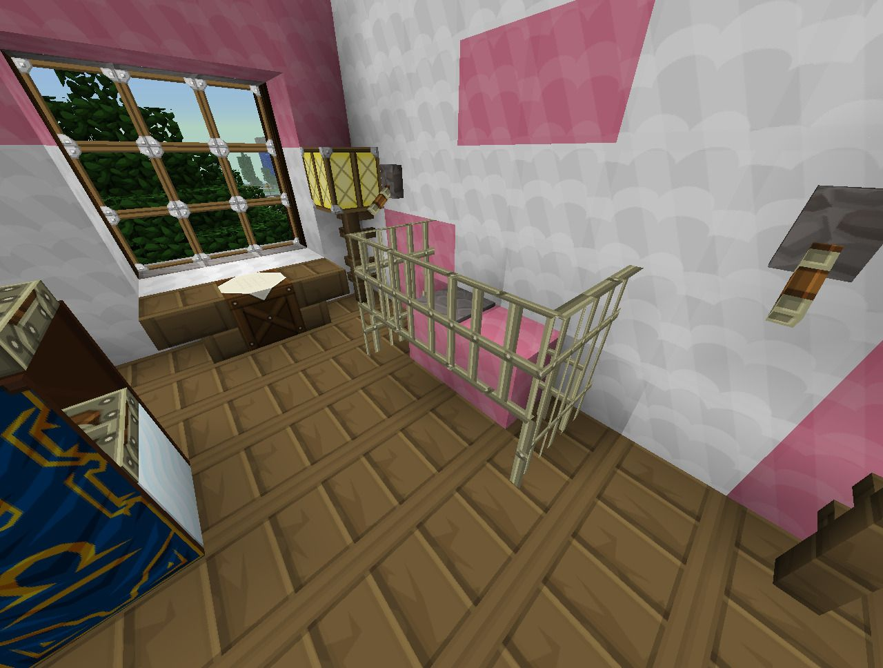 Cool Bedroom Ideas On Minecraft | Minecraft bedroom decor ...