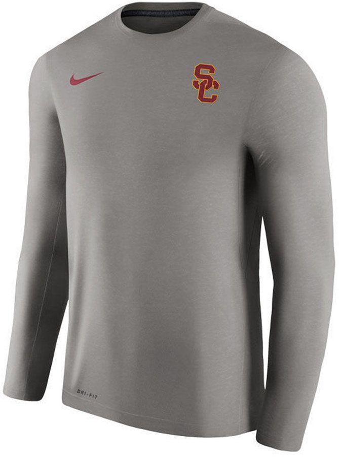 cb040306ebb Nike Men s Usc Trojans Dri-Fit Touch Longsleeve T-Shirt