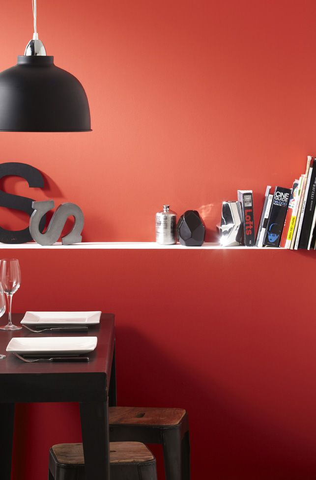 Peinture Rouge Rouge 3 Satin Luxens Couleurs Interieures Satin 2 5
