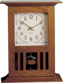 Klockit Mission Mantel Clock Kit Woodworking Lamp Used Woodworking Tools Woodworking Techniques