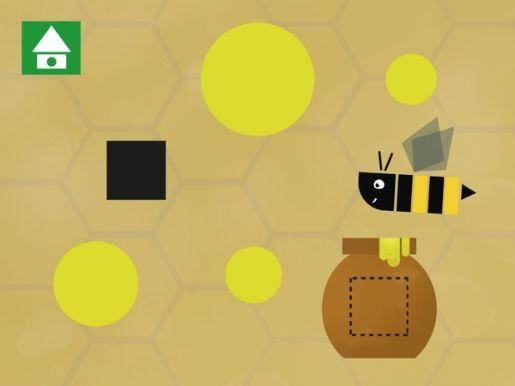 Con questa app dello sviluppatore Colto il bambino si avvicina alla conoscenza delle forme geometriche in modo intuitivo e giocoso. Apprezzabili le soluzioni grafiche e le illustrazioni, che bilanciano la rigida linearità di triangoli, cerchi e rettangoli con sfondi acquarellati che si dilatano oltre lo schermo del tablet
