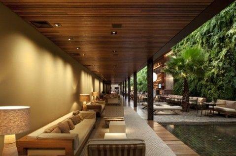 modern tropical interior design - Modern Tropical House Design