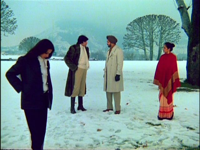 Image result for amitabh bachchan snow
