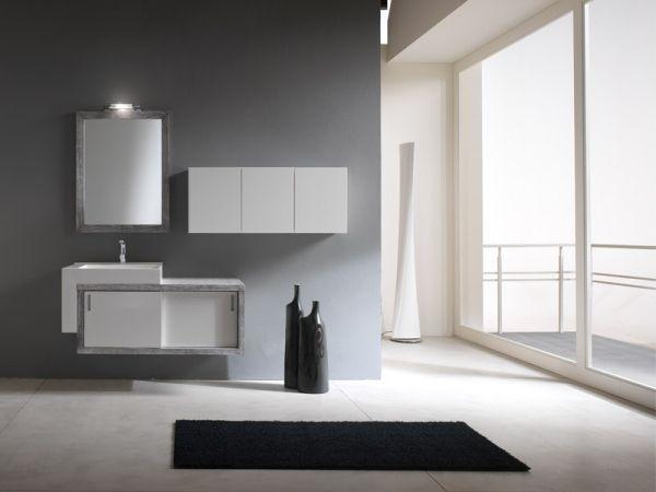 Badezimmer Seitenschrank ~ Modernes interieur ideen spiegelschrank im badezimmer splish