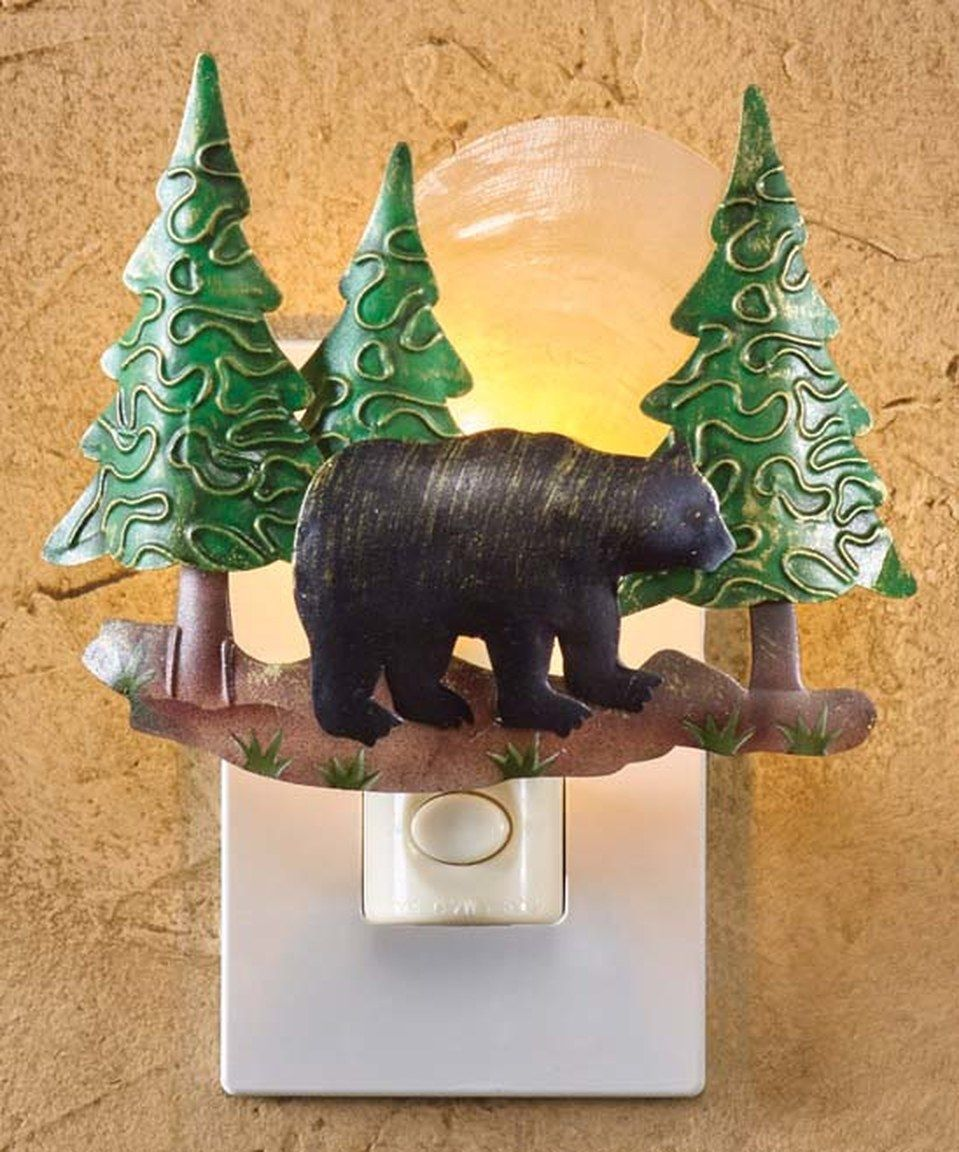Look what I found on #zulily! Bear Scenic Night-Light by Park Designs #zulilyfinds
