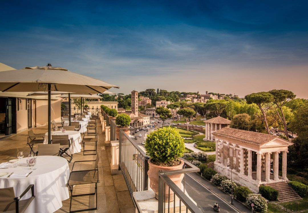 The Absolute Coolest Rooftop Bars In Rome 2020 An American In Rome Rooftop Garden Urban Best Rooftop Bars Rooftop Bar
