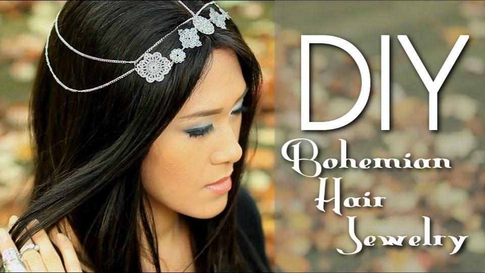 DIY Boho Hair Jewelry