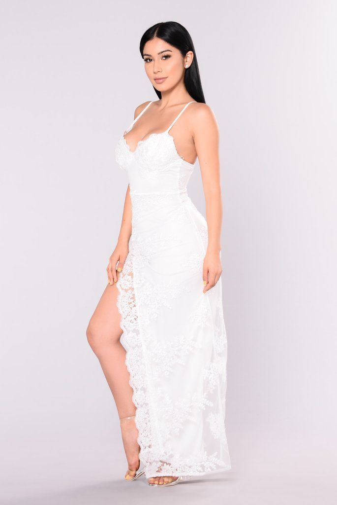 a6fc0a170 A Night In Tokyo Lace Dress - White in 2019 | Janet Guzman | Dresses ...