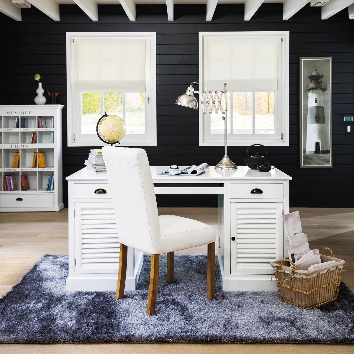 Bureau blanc BARBADE | Home decor, Furniture, Home
