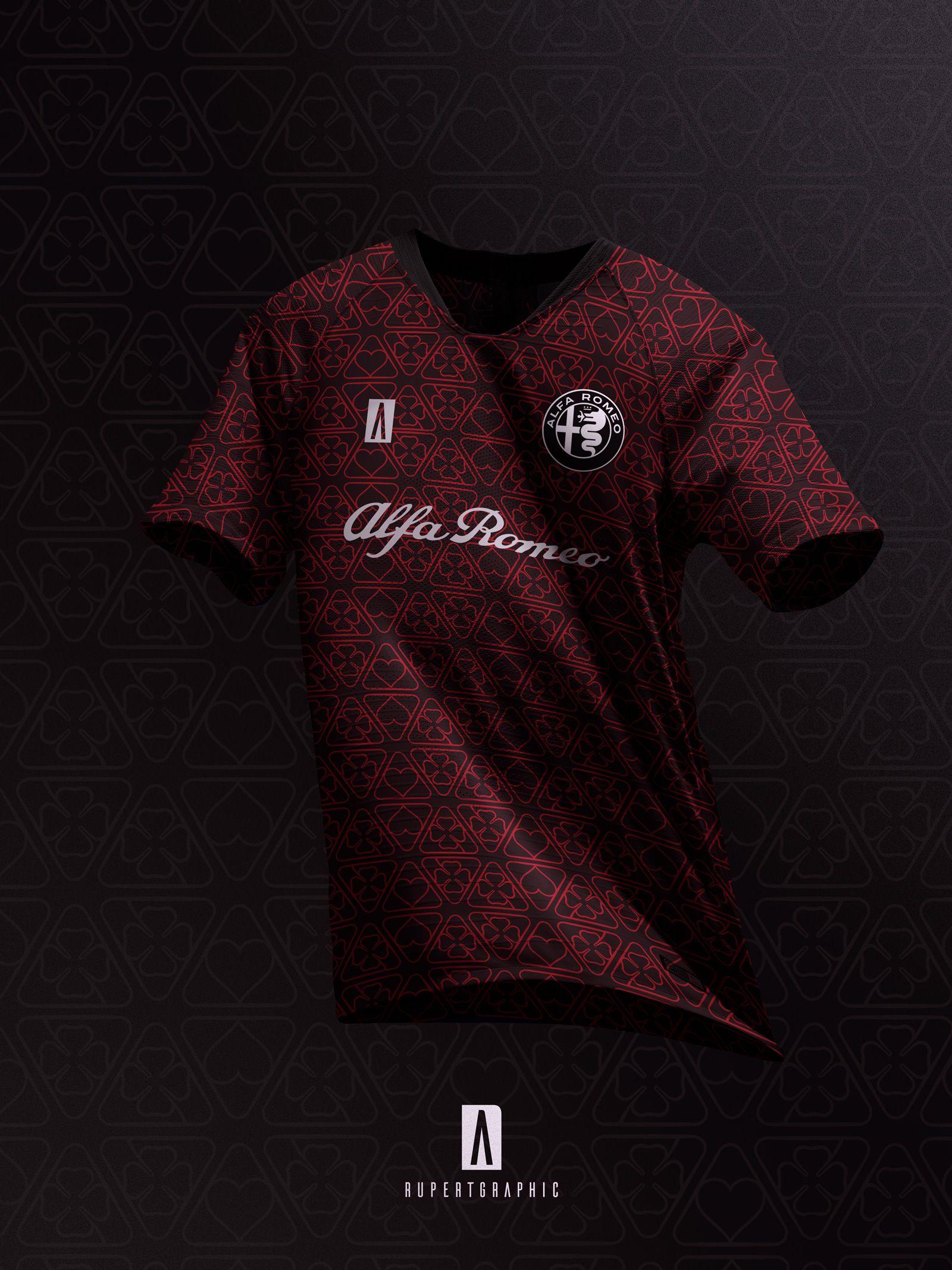 3328d4c178d Alfa Romeo Kit Concpet on Behance Soccer Kits