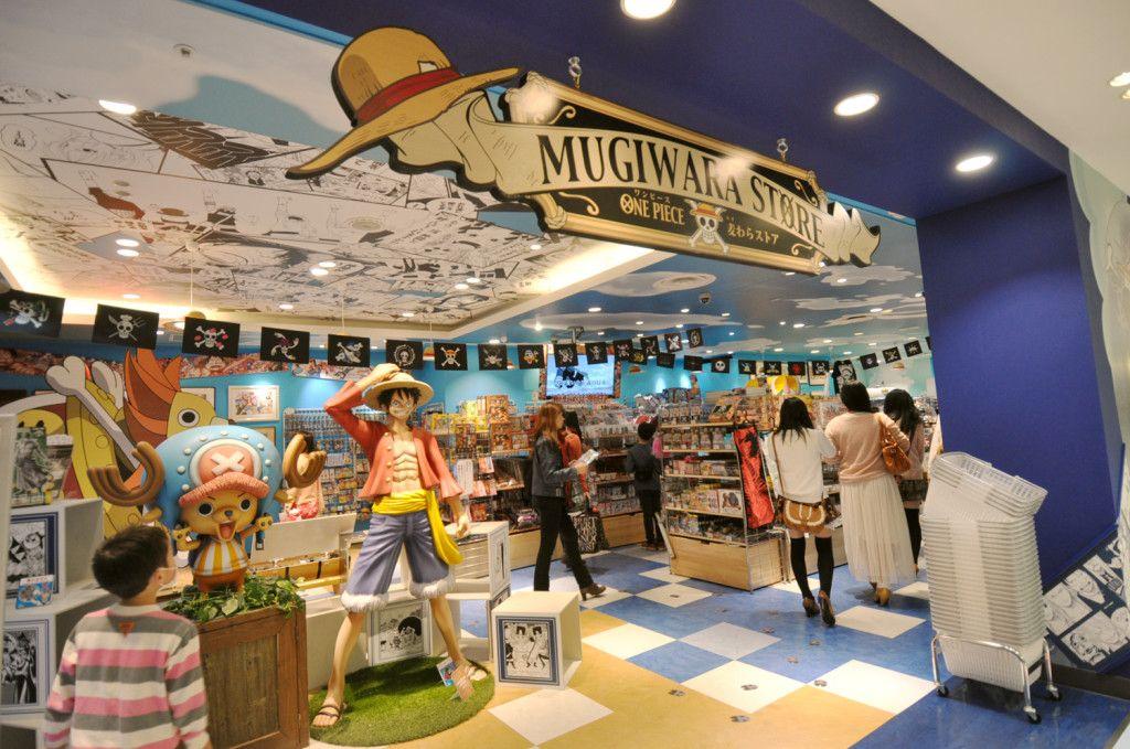 Mugiwara one piece store shibuya parco shibuya