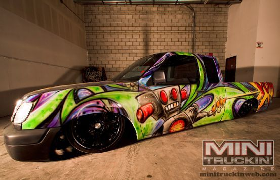 1999 Nissan Frontier Off The Walls Graffiti Paint