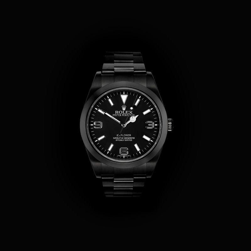 Rolex Black-Out Explorer