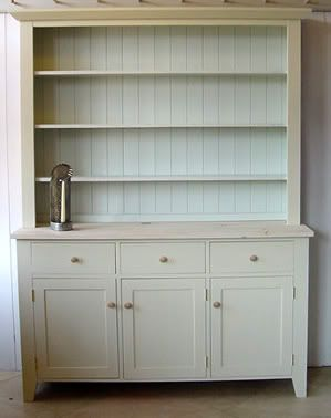 White Kitchen Dresser farrow & ball pale powder and off-white | kitchen | pinterest