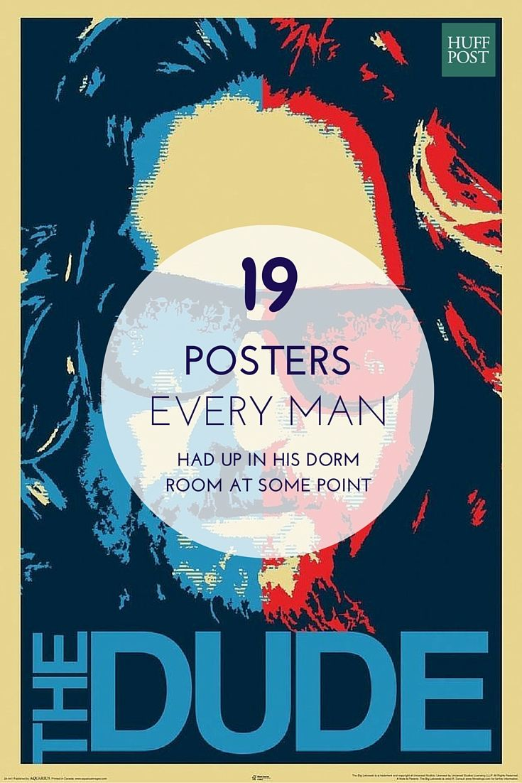 The Dorm Room Posters Every Guy Has