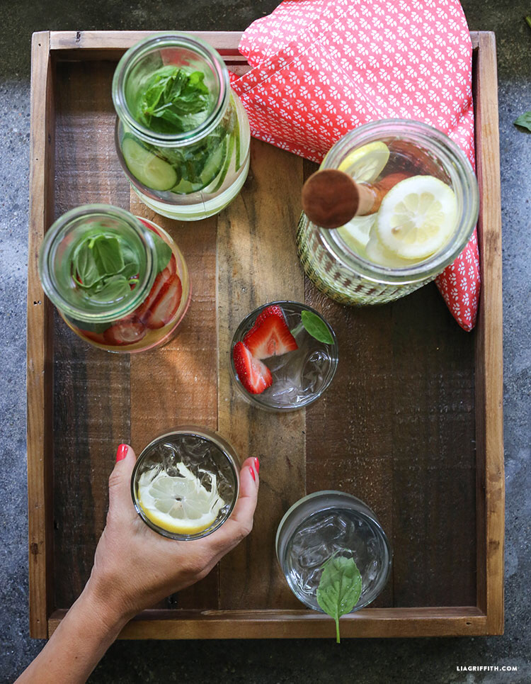 Fruit Infused Water #infusedwaterrecipes