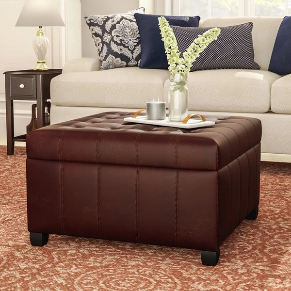 Fantastic Francisville Leather Storage Ottoman By Darby Home Co Andrewgaddart Wooden Chair Designs For Living Room Andrewgaddartcom