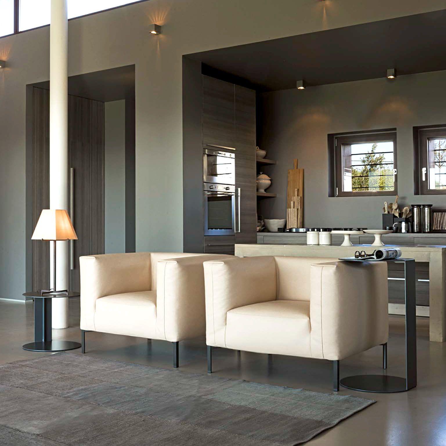 Join Lounge Chair Modern Living Room Design At Cassoni Living  # Muebles Sedutti