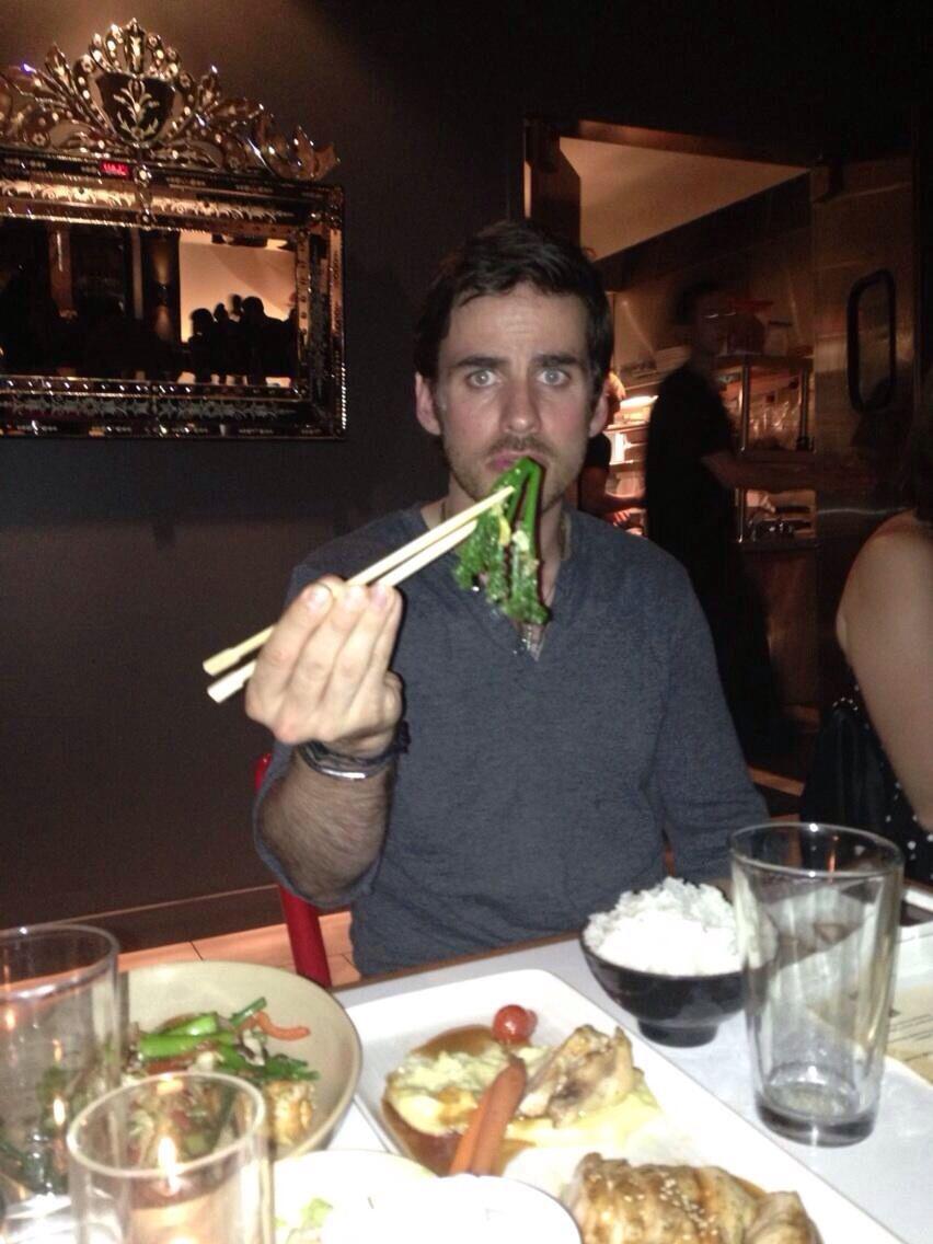 @MRaymondJames: And I'm not too sure about Colin's chopstick skills #SDCC