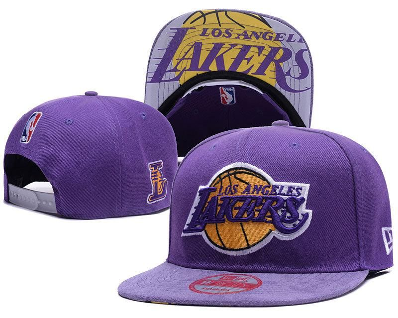 Men S Los Angeles Lakers 2017 Nba Draft Official On Court Collection 9fifty Snapback Hat Purple