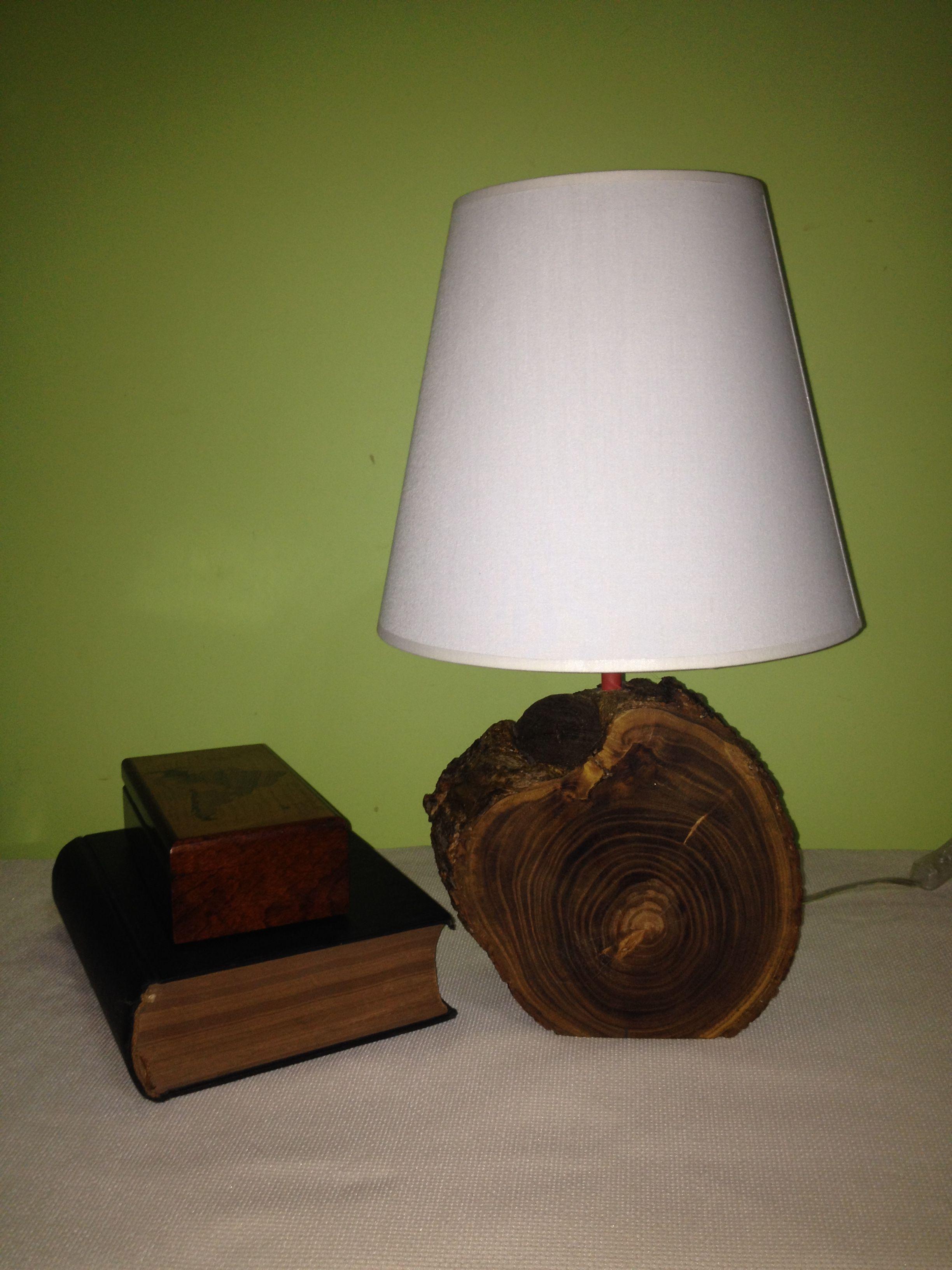 WOOD LOG BASED NIGHT LAMP #wood #woodworking #lamp #light #design ...