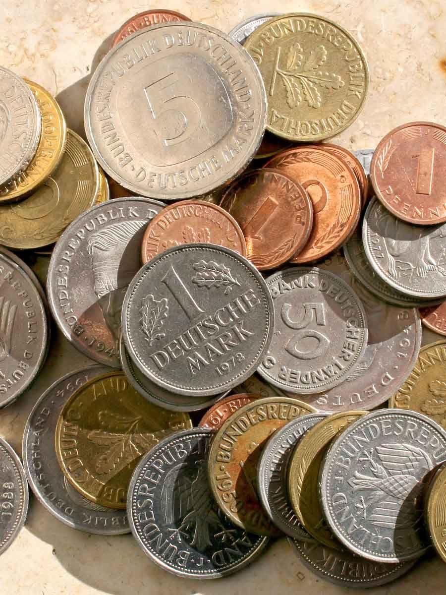 So viel können deine alte DMarkMünzen heute wert sein