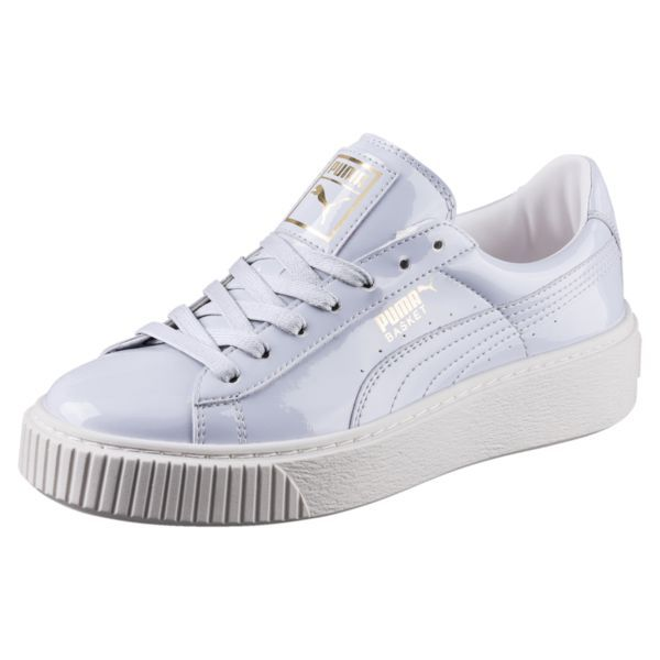 3a9660db6a3c2d Find PUMA Basket Platform Patent Women s Sneakers and other Womens Pre Semi  Sale at us.puma.com.