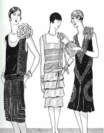 1920s Fashion Where Can I Buy Those Flashing Dresses Things