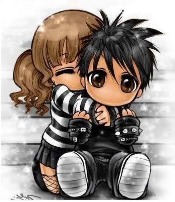 Pareja Lindas Fotos De Amor Dibujos De Amor Dibujos De Chicas Kawaii