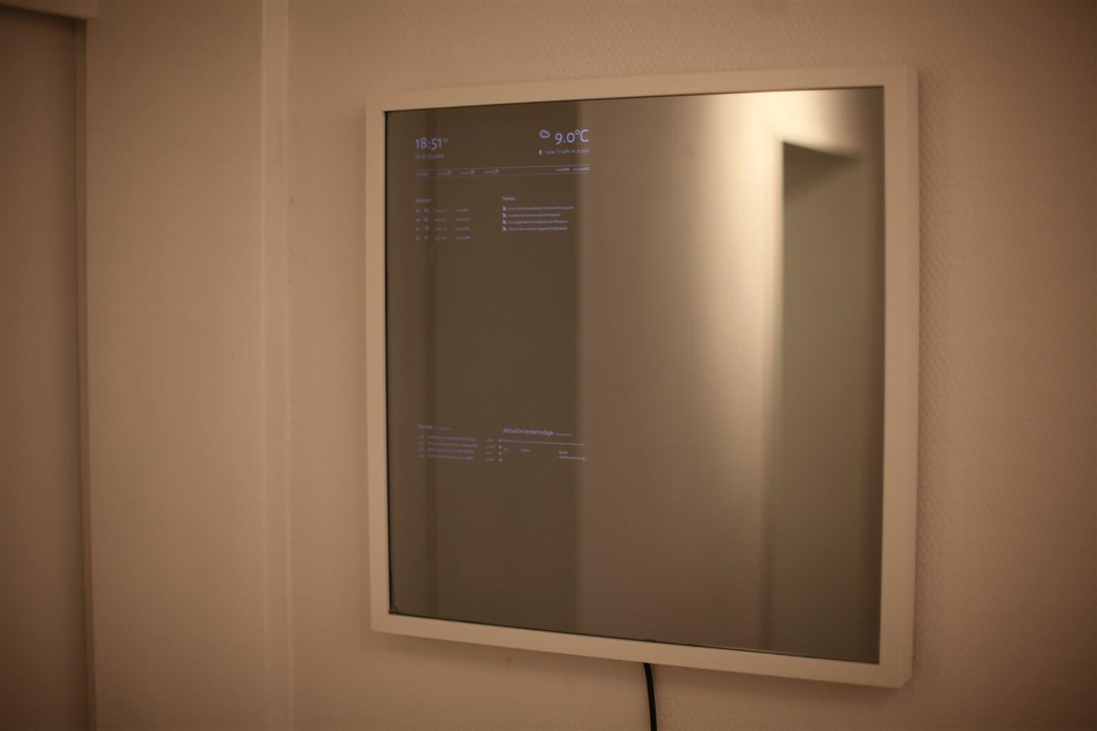 Intelligenten Spiegel Ohne Programmierkenntnisse Selber Bauen Mit Bildern Haustechnik Selber Bauen Elektronik Smart Spiegel