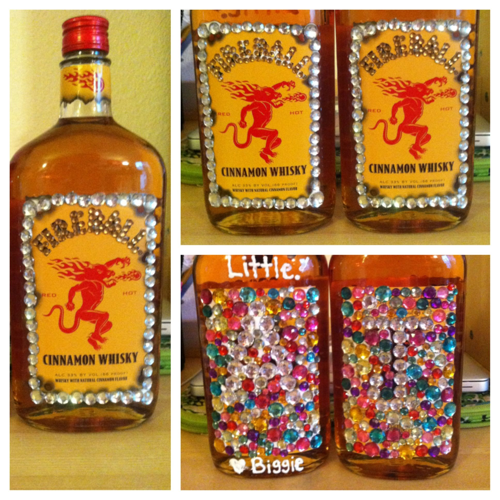 Decorate A Bottle Of Fireball #21stbirthday