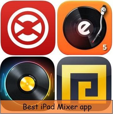 Best iPad Mixer App: Make DJ Sound and remix song | ipad | Dj sound
