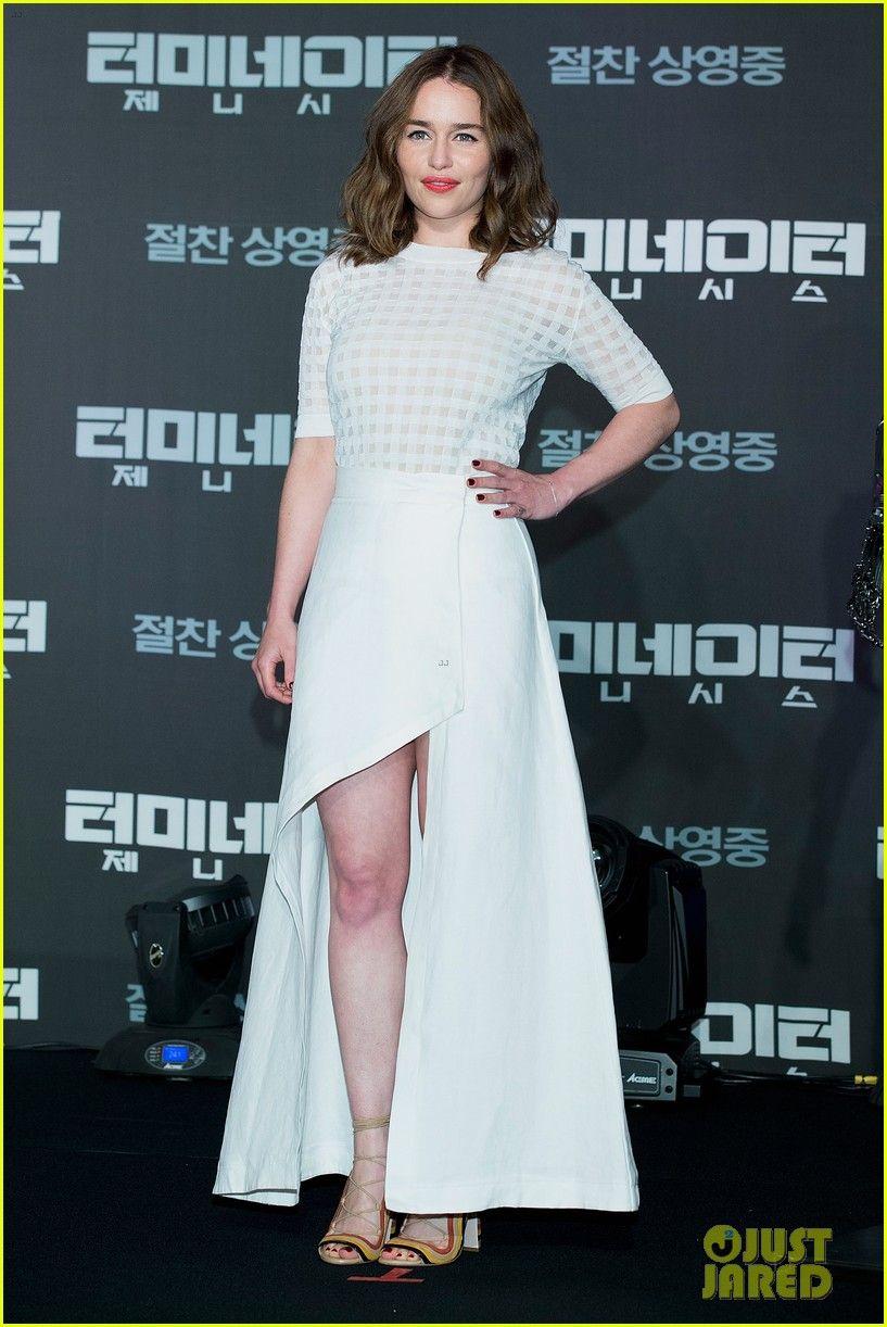Emilia Clarke Says 'Terminator: Genisys' is 'Just Kicking ...