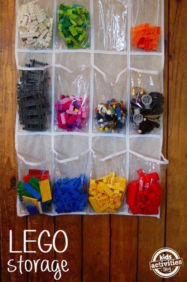 20 ideas para ordenar juguetes que te ayudar n a acabar con el desorden rutinas y cole en - Almacenaje juguetes ninos ...