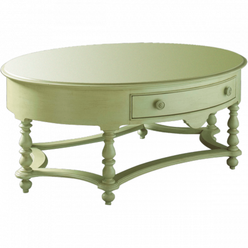 Summer Home Collection Oval Cocktail Table. Fine FurnitureFurniture ...