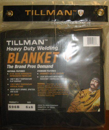 Tillman 596b Heavy Duty Welding Blanket 6 X 6 Gas Amazon