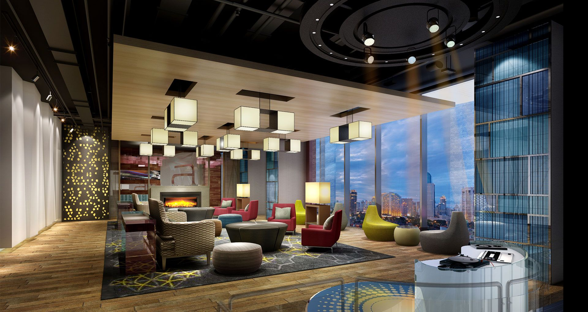Aloft guangzhou tianhe hotel designed by studio hba this for Hotel design concept