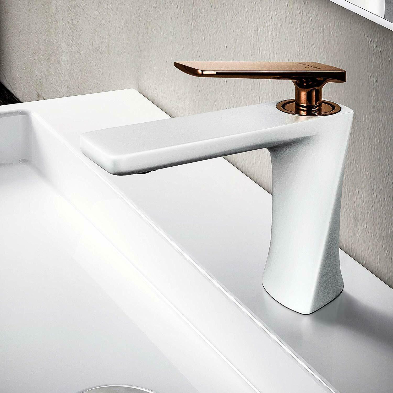 Details About Jomola Modern White Bathroom Vanity Sink Faucet Single Handle Lavatory Faucet Sink Faucets Basin Mixer Taps Lavatory Faucet