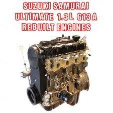 Suzuki Samurai Ultimate 1 3l G13a Rebuilt Engines Long Block With