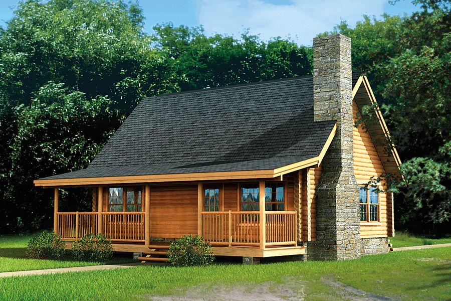 Greenbriar Log Home 1180 Sf 3 Bedrooms 2 Bath Log Cabin House Plans Log Cabin Plans Small Log Home Plans