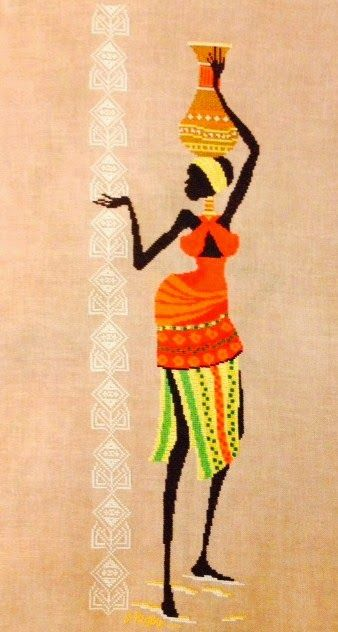 cross stitch african - Google Search | Afrique | Pinterest ...