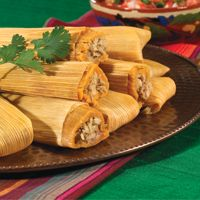 Light chicken tamales - Going to try to make tamales for the first time this year :)