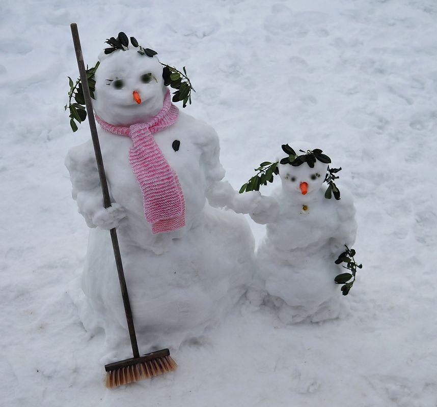 всевозможные фото приколы зимой лучшие снеговики первого шарафуге