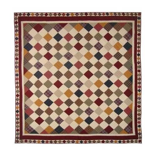 Patch Magic Qkrusc Rustic Cabin Quilt King 105 X 95 In