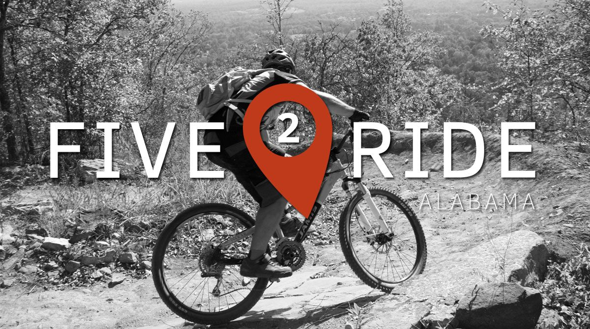 Five2Ride: The Best Mountain Bike Trails in Alabama.