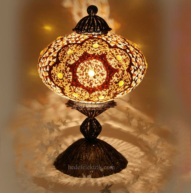 Turkish Style   Mosaic Lighting   Eclectic   Table Lamps   Other .