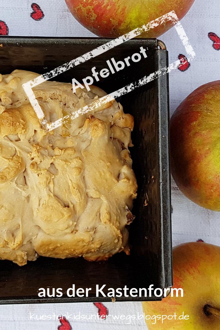 Rezept: Apfelbrot aus der Kastenform